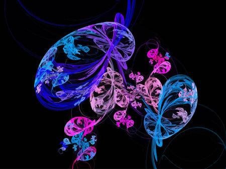 Vector Illustration of digital fractal Stock Vector - 22897260