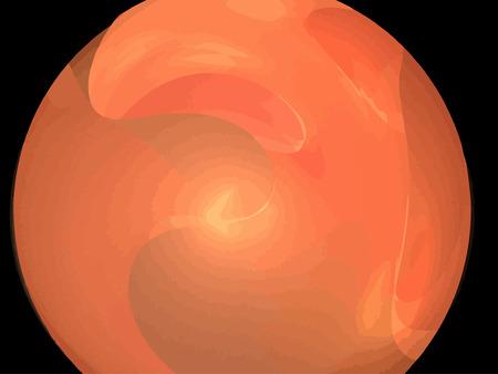 Vector Illustration of digital fractal Stock Vector - 23261836