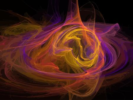 Vector Illustration of digital fractal Stock Vector - 23261857