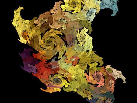 Vector Illustration of digital fractal Stock Vector - 23922829