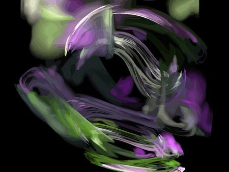 Vector Illustration of digital fractal Stock Vector - 24181834