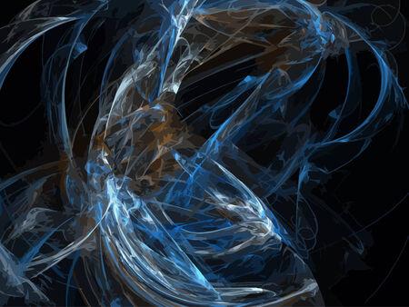 Vector Illustration of digital fractal Stock Vector - 24181853