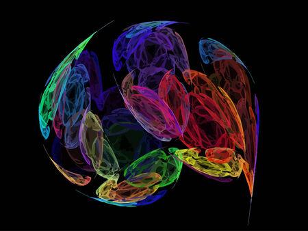 Vector Illustration of digital fractal Stock Vector - 24335690