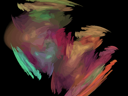 Vector Illustration of digital fractal Stock Vector - 25085912