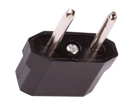 Plug Adaptor Isolated photo