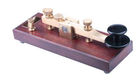 Morse Key Isolated photo