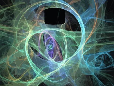Vector Illustration of digital fractal Stock Vector - 27251942