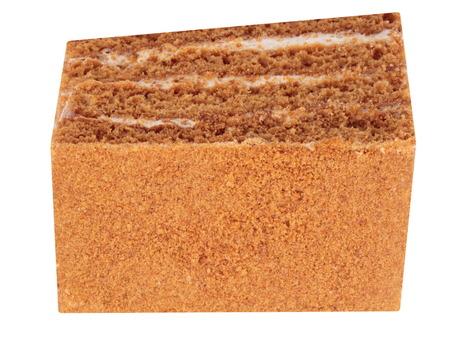 Sponge-cake Isolated photo