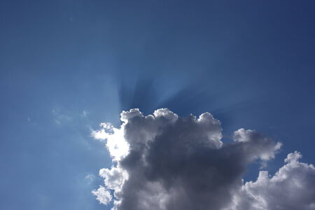 Cloud on Sky at Day photo
