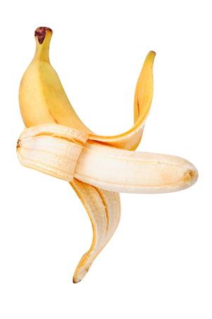Yellow Banana Isolated photo