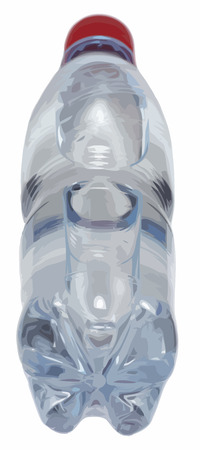 quench: water in bottle Illustration