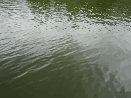 ripple: ripple on water vector Illustration