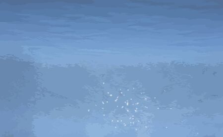 asterix: glare on water vector