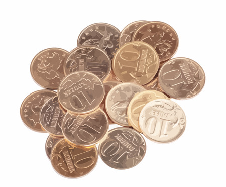 scattering: scattering of coins