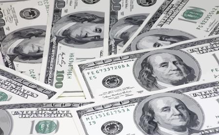 american dollars hundreds banknote 일러스트
