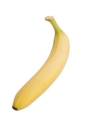 banana skin: Yellow Banana Isolated