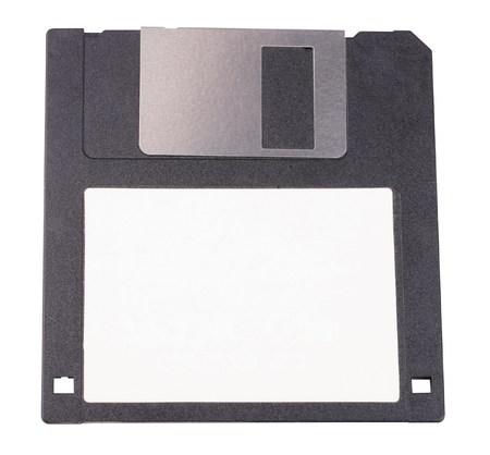 floppy: micro floppy disk isolated