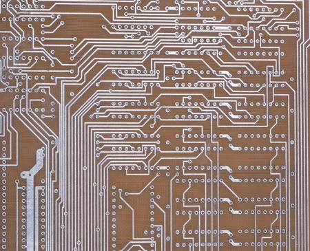 Printed Circuit Board at day