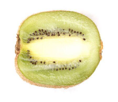 actinidia deliciosa: raw kiwi at day