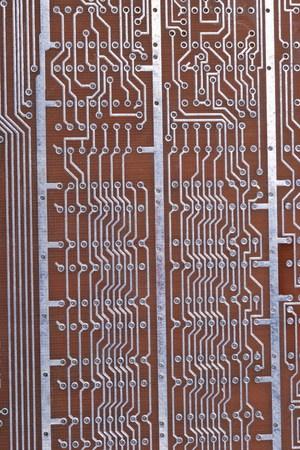printed material: Printed Circuit Board at day