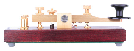 Morse Key Isolated Imagens
