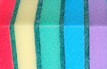 many foam rubber  sponge Banque d'images - 114504174