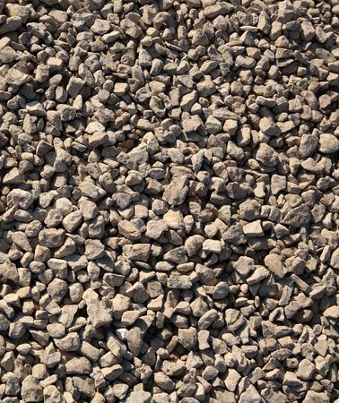 gravel at dry sunny day Reklamní fotografie