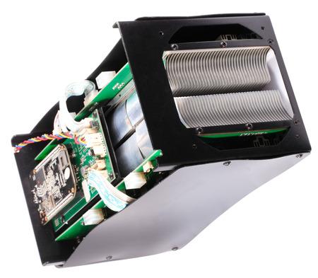 electronic device isolated on white background
