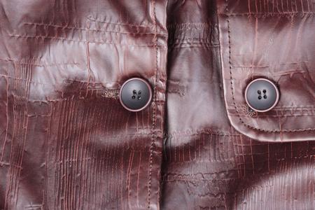 Mens Quality Leather Warm Jacket