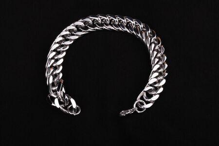 Mens  Stainless Silver Bracelet