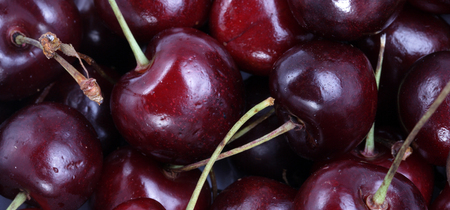 many sweet cherry at day Imagens - 119409677