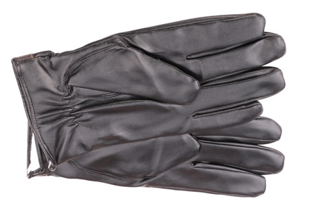 Leather Gloves Isolated 版權商用圖片