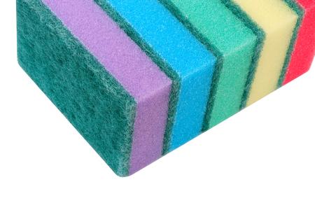 many foam rubber  sponge