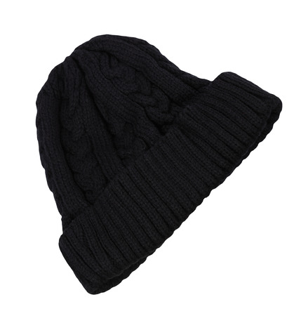 Warm Men black Cap