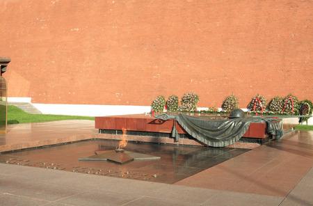 russian Kremlin eternal flame post