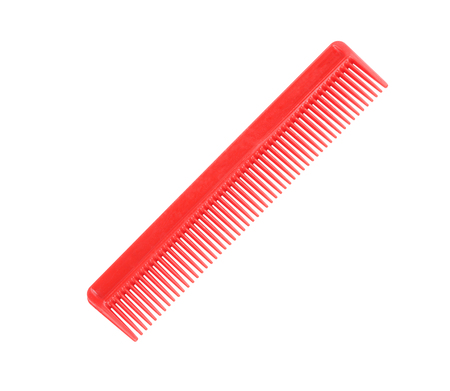 Red Comb Isolated Stock Photo