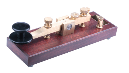 Morse Key Isolated