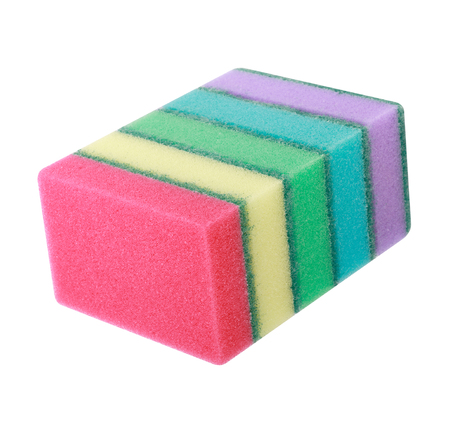 many foam rubber  sponge Banque d'images - 120293312