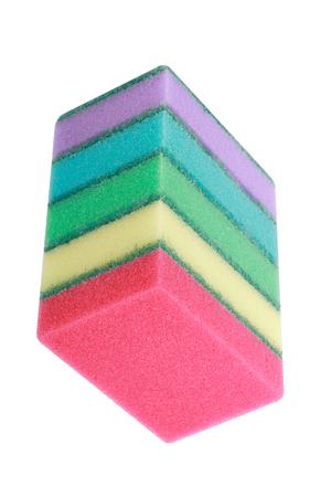 many foam rubber  sponge Banque d'images - 120722326