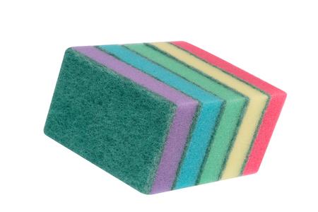 many foam rubber  sponge Banque d'images - 120723139