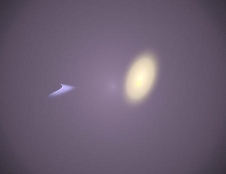 image of one Digital Fractal on Black Color Banco de Imagens - 120570115