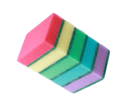 many foam rubber  sponge Banque d'images - 120569986
