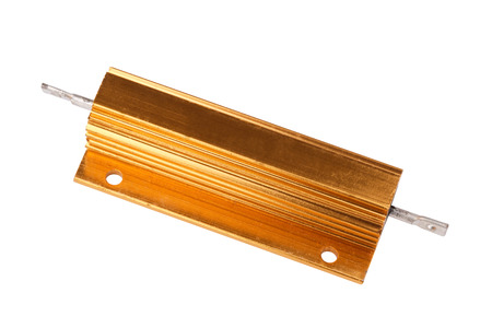 Resistor in Metal Case Isolated Standard-Bild
