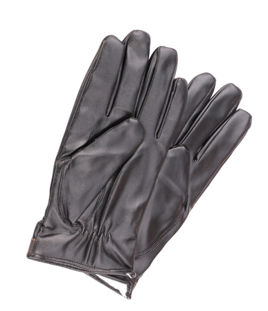 Leather Gloves Isolated Фото со стока