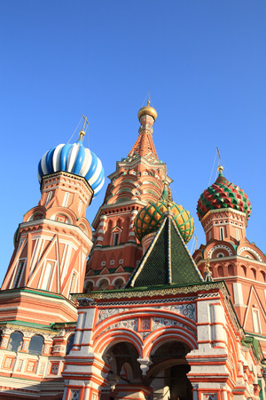 blessed  Basil cathedral at day 写真素材 - 120852523