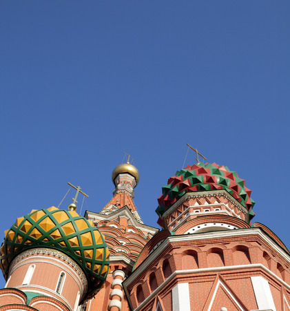 blessed  Basil cathedral at day 写真素材 - 121614112
