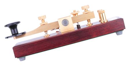 Morse Key Isolated Stock Photo
