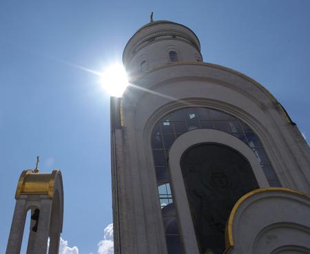 church in the daytime Stok Fotoğraf