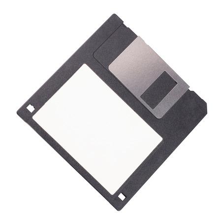 Mikrodiskette isoliert