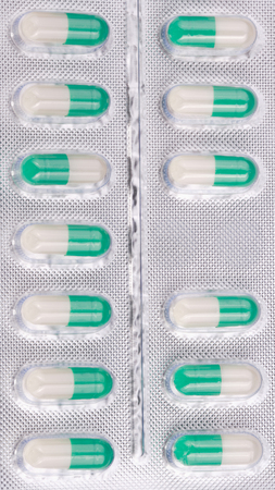 Many Tablets in Blister Isolated